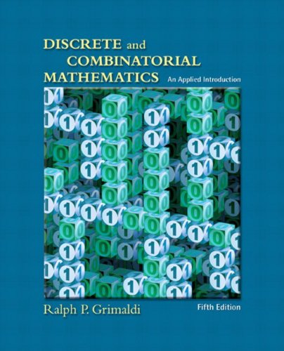 Discrete and Combinatorial Mathematics: An Applied...