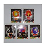 GoGos Crazy Bones Go-Go's Rare Sticker Set (5 Stickers) Series 1