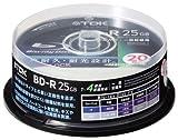 TDK データ用ブルーレイディスク 25GB BD-R 4X ホワイトワイドプリンタブル