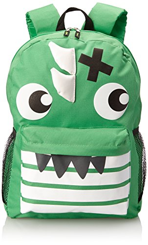 Sk*r Club Green Monster Backpack, Green, One Size - 1