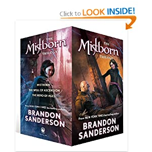 Mistborn Trilogy Boxed Set (Mistborn, The Hero of Ages, & The Well of Ascension) by