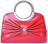 Bsb Trendz Women's PU Handbag (Red)