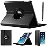 DN-Technology Apple iPad Mini 360 Rotation Case with Screen Protector (Black)