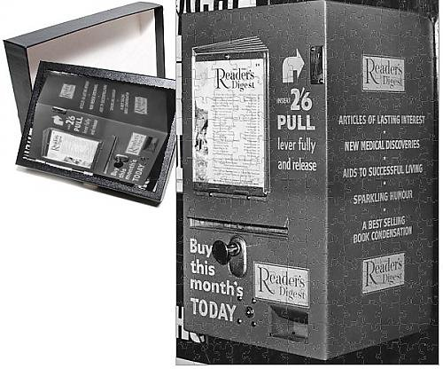 Photo Jigsaw Puzzle of Reader s Digest vending machine, Exeter station