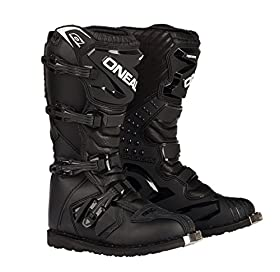 O'Neal Rider Boots (Black, Size 14)