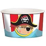 Amscan 430393Little Pirate tratar tazas