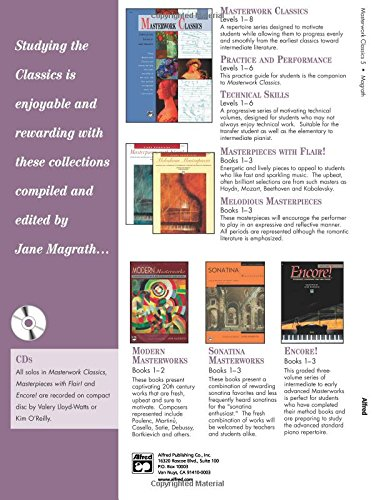 Masterwork Classics: Level 5, Book & CD (Alfred Masterwork Editions)