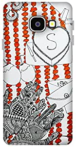 The Racoon Grip Wedding hard plastic printed back case / cover for Samsung Galaxy A3 (2016)