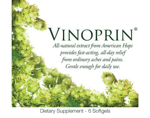 Vinoprin One Hour Pain Relief (Almost Free) One Week Trial Pack