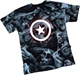 Captain Rogers -- Captain America All-Over Print T-Shirt
