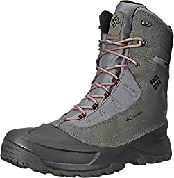 Columbia Men\'s Snowblade Plus WP Cold Weather Boot, Charcoal/Bright, 11 D US
