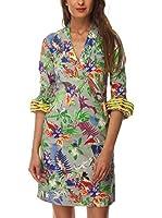 Almatrichi Vestido Dafne (Gris / Multicolor)