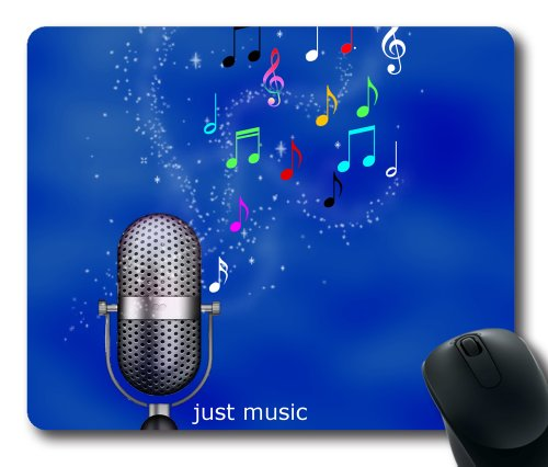 Singing Microphone Mouse Pad