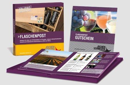 Erlebnis-Geschenkbox 'Flaschenpost'