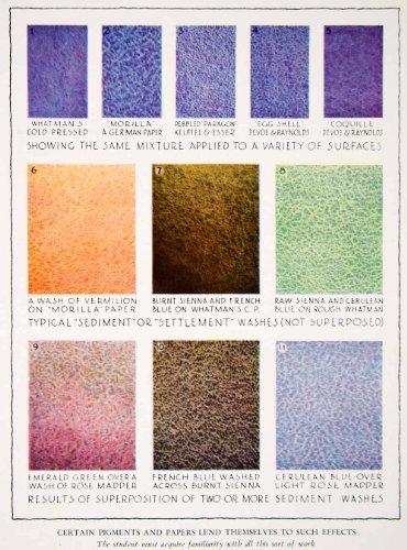 1943-color-print-diagram-paper-sediment-wash-effect-texture-pigment-style-design-original-color-prin