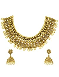 Beautiful Queens Pearl Necklace Set-ZPFK4798