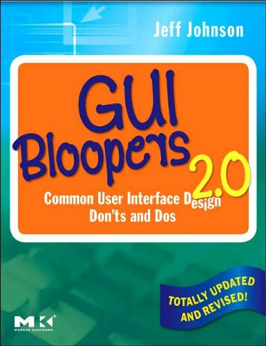 GUI Bloopers 2.0, Second Edition