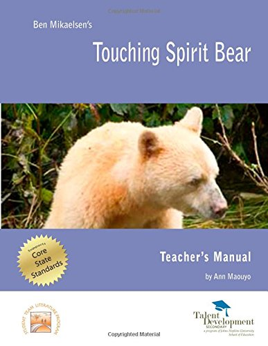 analysis of touching spirit bear Touching spirit bear is about a young boy with problems that interfere with his life as a big bad part of it one thing is that his parents are divorced and dont care.