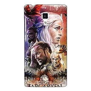 Jugaaduu Game Of Thrones GOT House Targaryen Back Cover Case For Redmi 1S
