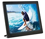 NIX 12 inch Hi-Res Digital Photo Frame with Motion Sensor & 4GB Memory - X12C