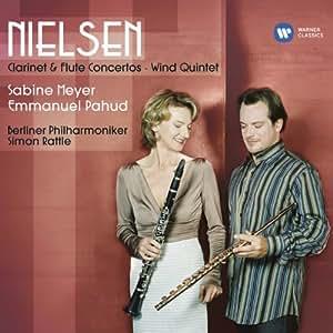 Nielsen: Flute Concerto, Clarinet Concerto, Wind Quintet