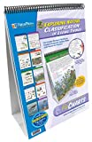 NewPath Learning standards-based classification of living things curriculum mastery flip chart set. Each curriculum mastery flip chart is mounted on a sturdy easel. 10 double-sided, laminated 18-inches length by 12-inches width charts. Side 1...