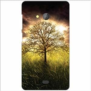 Microsoft Lumia 540 Dual SIM Back Cover - Greenery Designer Cases