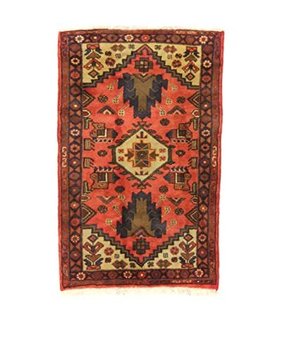 Eden Alfombra Hamadan Rojo 73 x 115 cm