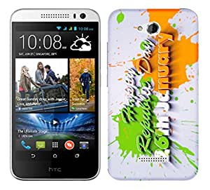 WOW Printed Designer Mobile Case Back Cover For HTC Desire 616