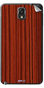 GsmKart SGN3 Mobile Skin for Samsung Galaxy Note 3 (Brown, Galaxy Note 3-977)