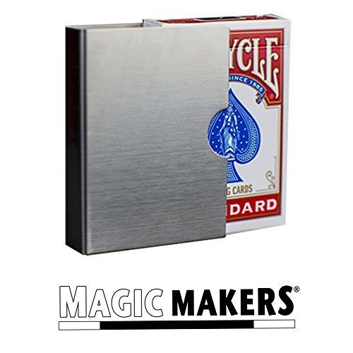 Card Guard - The Perfect Accessory for Your Svengali, Stripper, Marked, Diamond or Invisible Magic Deck of Cards (Card Clip compare prices)