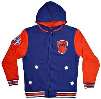 New York Knicks Mitchell & Ness NBA 2nd Quarter Hooded Fleece Jacket by Mitchell & Ness