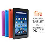 "Fire Tablet, 7"" Display, Wi-Fi, 16 GB - Includes Special Offers, Magenta"