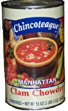 Chincoteague Seafood Manhattan Clam Chowder, 51 Ounce