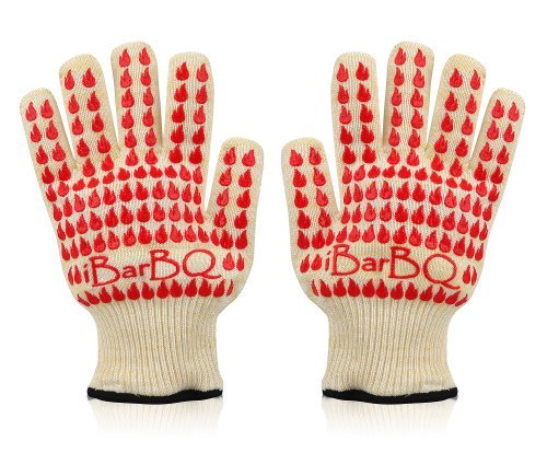 ibarbq-barbeque-grill-smoker-oven-heat-protection-silicone-gloves-pair