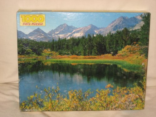 Vintage Golden 1000 Piece Jigsaw Puzzle - Little Lakes Valley