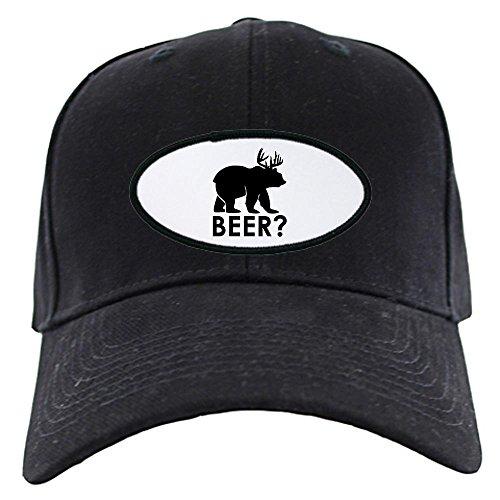 truly-teague-black-cap-hat-deer-plus-bear-equals-beer