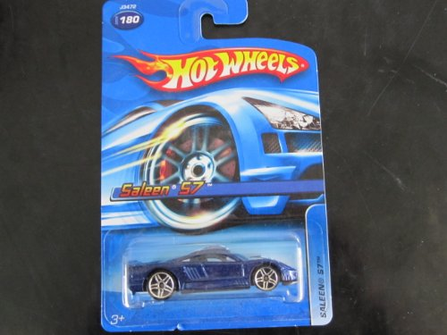Saleen S7 2006 Hot Wheels #180 Metalflake Blue