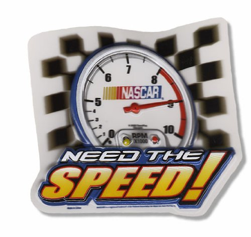 Nascar Need the Speed Cake Topper