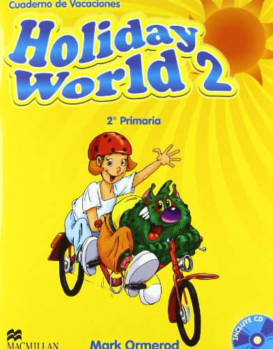 Holiday world 2º primaria + cd - cuaderno de vacaciones