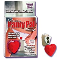 "Vibrating Panty Pal Heart ""Category: Clit Stimulating Vibrators"" (Sold Per Each) by California Exotic Novelties, LLC"