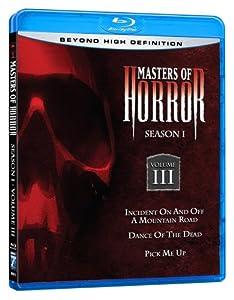 Masters of Horror: Vol. 3 Season 1 [Blu-ray]