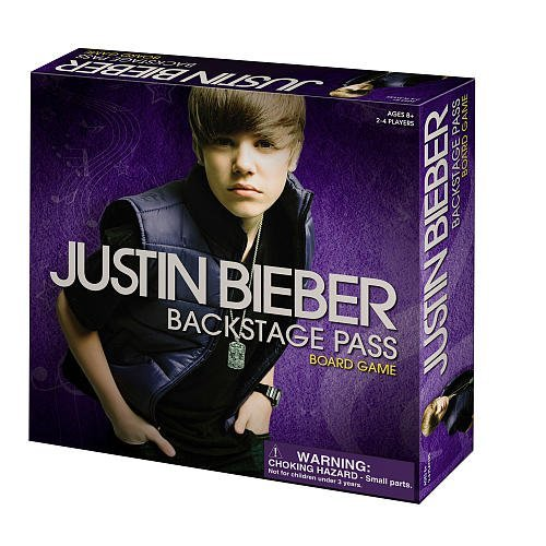 Justin Bieber Backstage Pass Game - 1