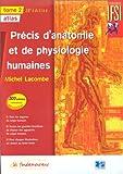echange, troc Lacombe - Précis d'anatomie et de physiologie, 28e édition, 2 volumes
