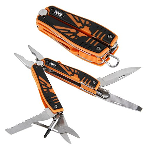 OUTU® Orange Multitool Screwdriver, Knife &
