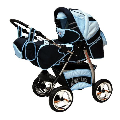 Pushchair Stroller Pram Buggy NEW Colour KING 2in1 Soft Carrying Bag 041 Royal / Double Softblue