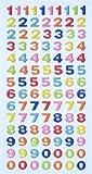 Creapop SOFTY-Stickers Zahlen, bunt 3451117 von Hobbyfun