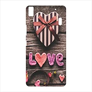 OVERSHADOW DESIGNER PRINTED BACK CASE COVER FOR LENOVO K3 NOTE