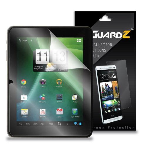 (2-Die) EZGuardZ Mach Speed Trio Stealth G2 8 Tablet Room divider Protector (Ultra Clear)