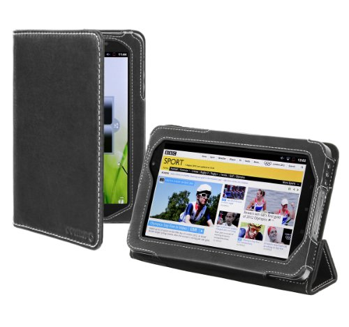 Cover-Up Lenovo IdeaPad A1 / A1107 7-inch Tablet Case (Prism Stand) - Black at Electronic-Readers.com